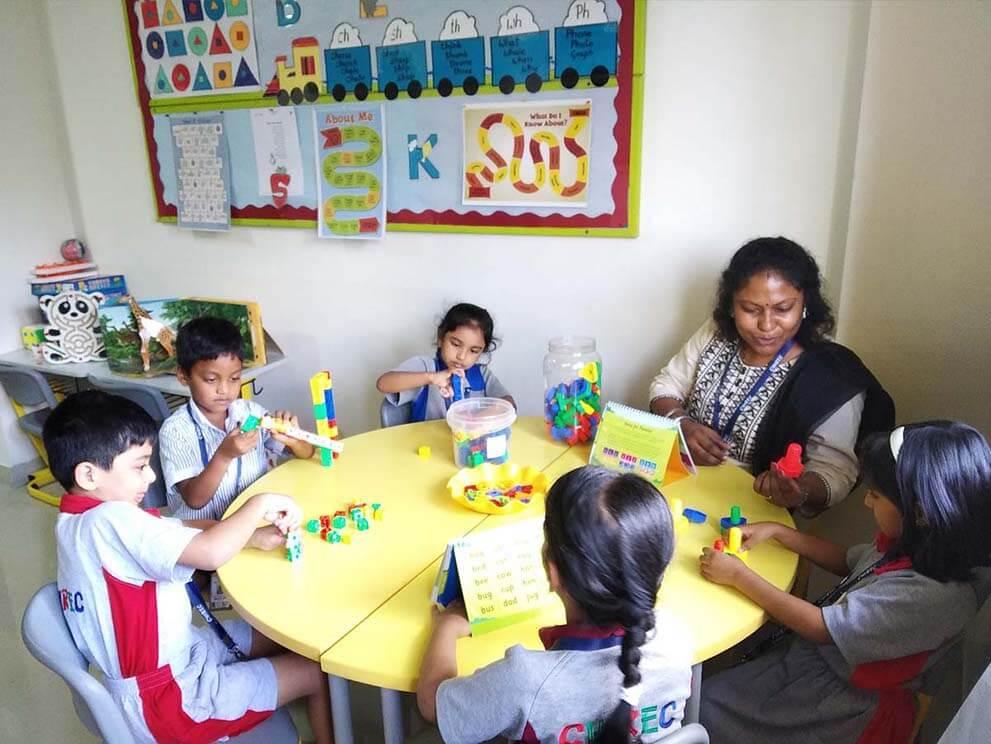 Remedial classroom